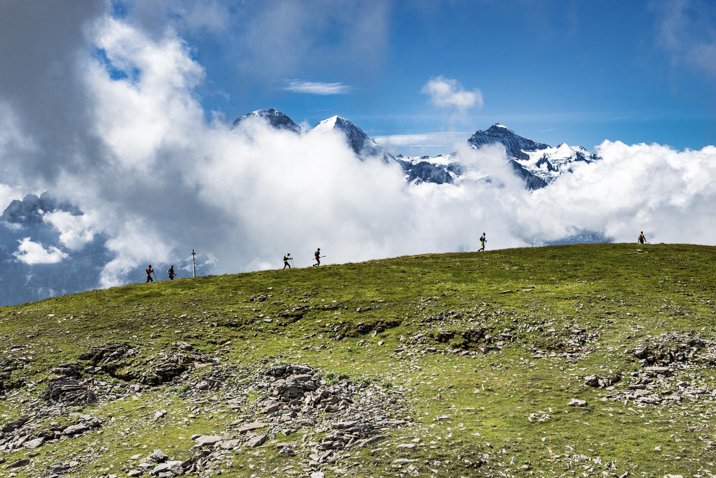 Andrea Huser gewinnt Eiger Ultra Trail und Schweizermeisterschaft im Trailrunning