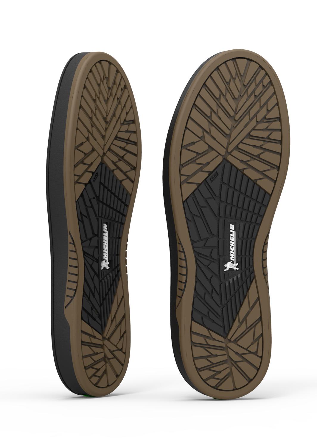 Der neue Etnies Marana Skateboardschuh ist 3 x robuster als bisher durch die Sohle von Michelin