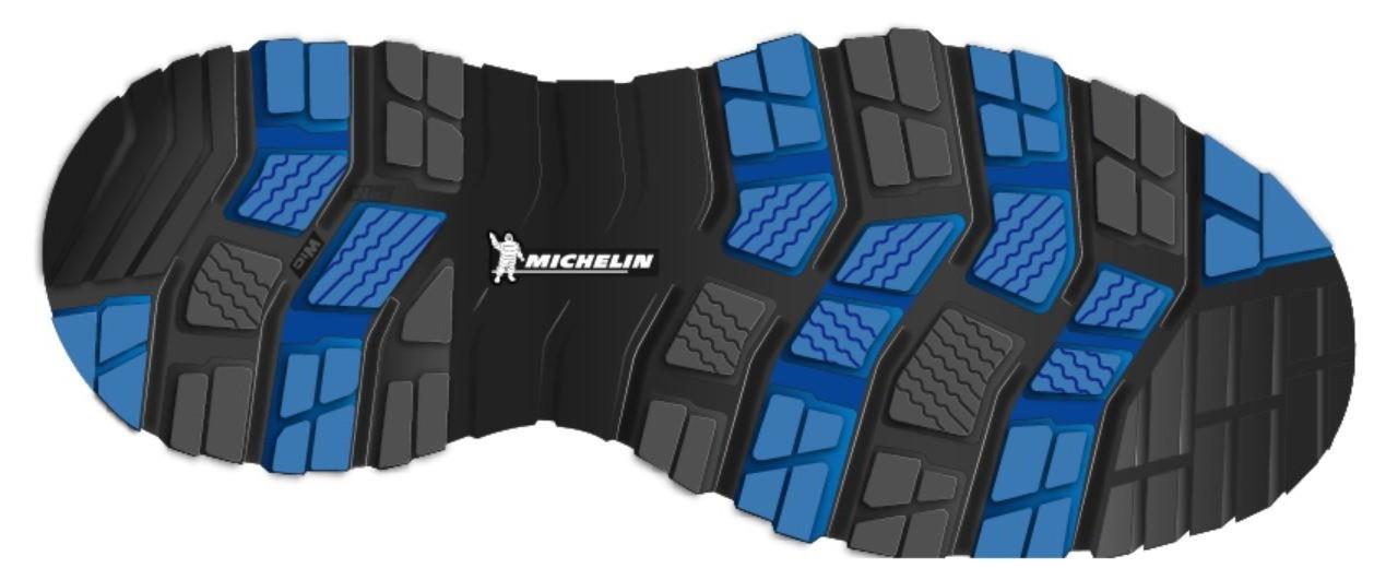 Bodenkontrolle für die Füße  Wintersohlen von Michelin Technical Soles
