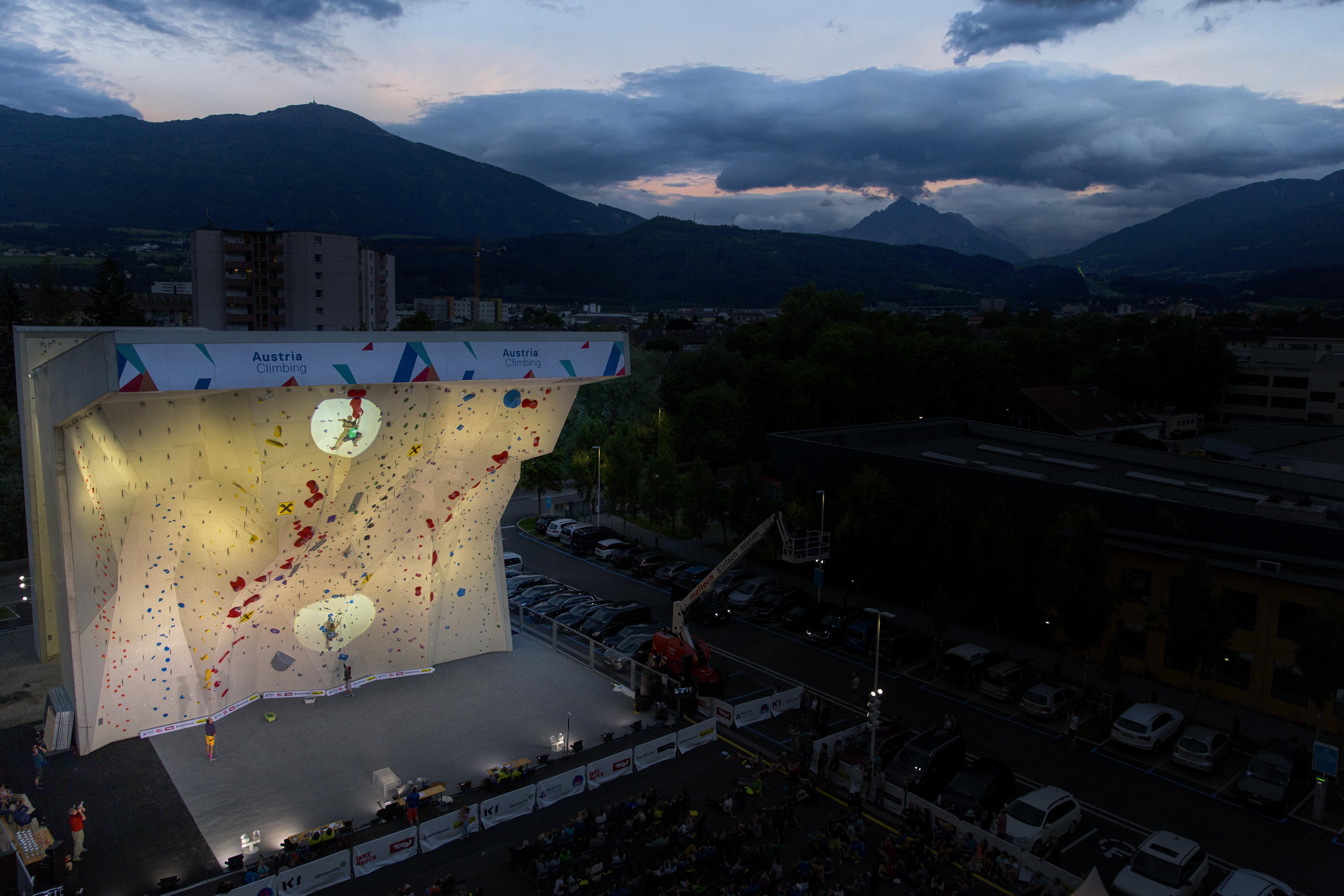 Kletter-Weltmeisterschaft Innsbruck 2018