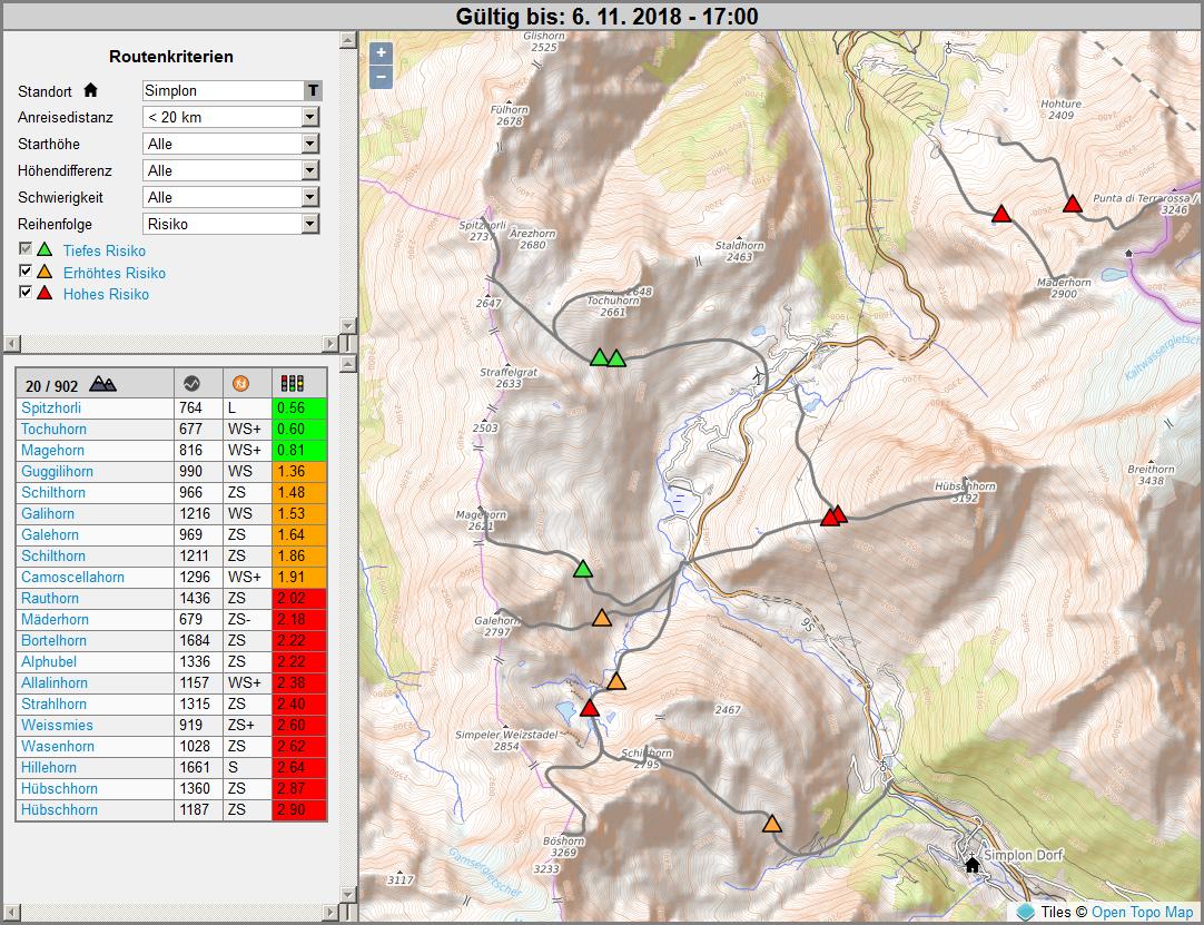 Digitale Skitourenplanung der nächsten Generation