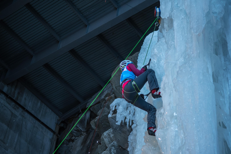 20. Durchführung von UIAA Ice Climbing Weltcup in Saas-Fee