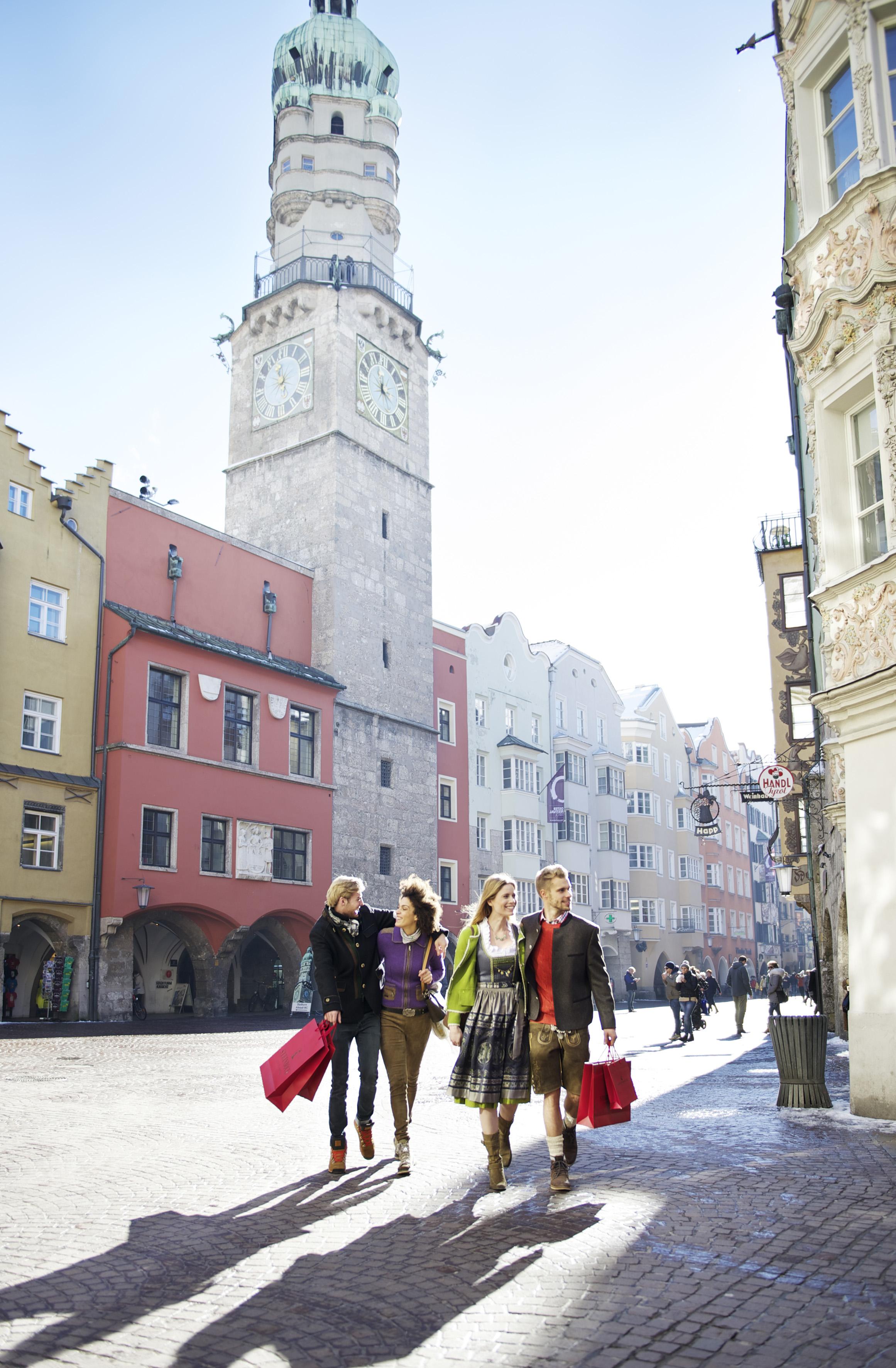 Viel Innsbruck für wenige Urlaubstage