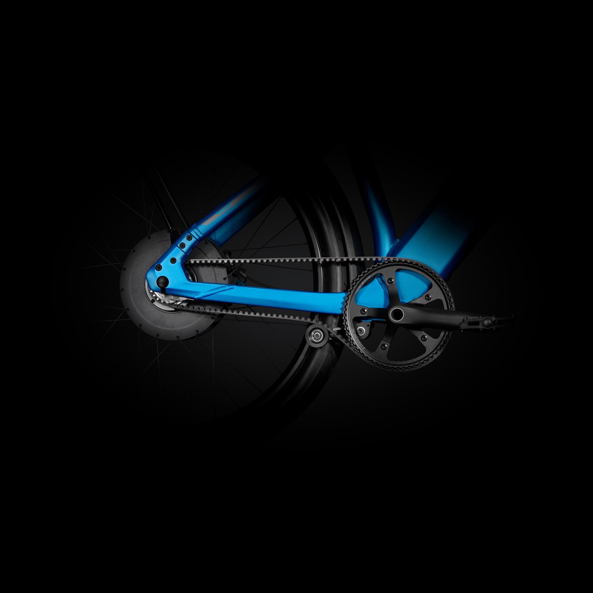 Stromers erstes Speed-Pedelec mit Riemenantrieb