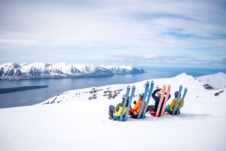 Hüttenschuhe aus Skifellresten